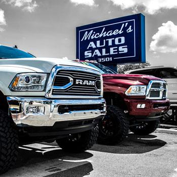 Custom Trucks for Sale Image
