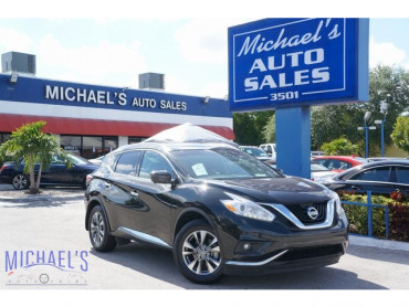 2016 Nissan Murano SL 4D Sport Utility - 19267 - Image 1