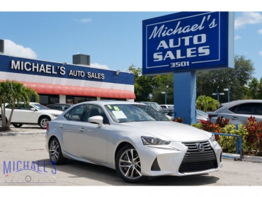 2018 Lexus IS 300 4D Sedan - 21105 - Image 1